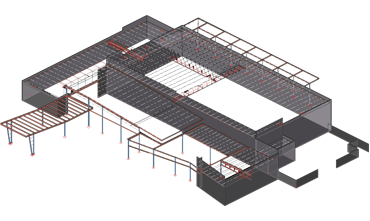 Steel Detailing Sample